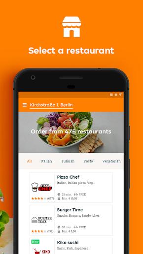Lieferando.de: eten bestellen