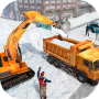icon Snow Heavy Excavator Simulator