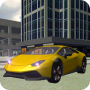 icon Airport Taxi Parking Drive 3D