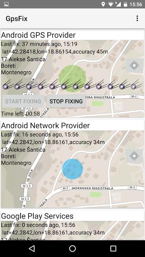 GPS-fix