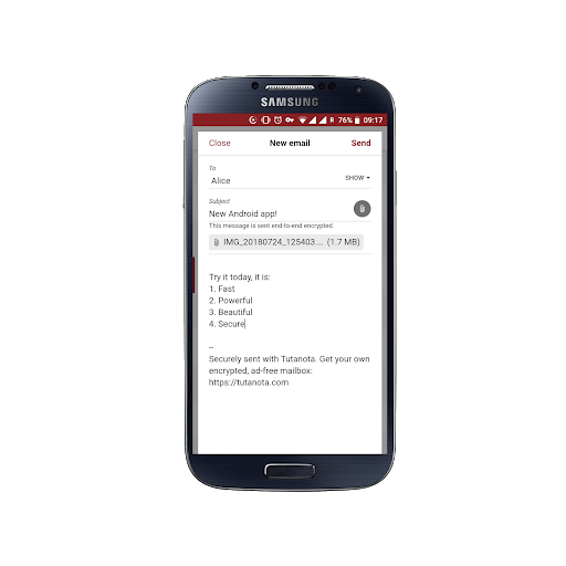 Tutanota: eenvoudig beveiligde e-mails