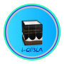 icon i-Qibla Finder, Qibla Direction, Qibla Compass