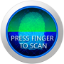 icon Fingerprint Lock Screen