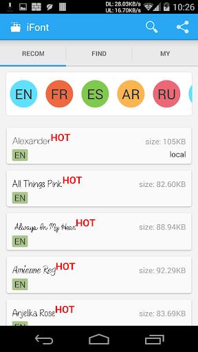 iFont (expert van lettertypen)